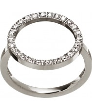 Edblad 3151441907-S Damer glöd silver stålring - storlek n (s)