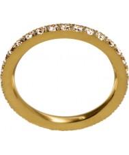 Edblad 216130151-M Damer glöd matt guldring - storlek p (m)