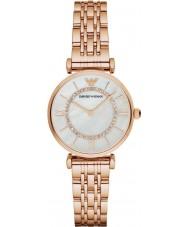 Emporio Armani AR1909 Damer ros guldpläterad länk armband klänning klocka