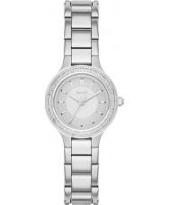 DKNY NY2391 Ladies kammare silver stål armband klocka