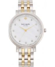 Kate Spade New York 1YRU0823 Damer Monterey silver stål armband klocka