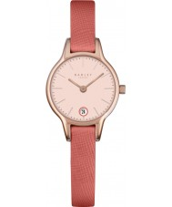 Radley RY2382 Damer lång tunnland papaya läderband watch