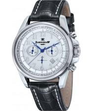Thomas Earnshaw ES-8028-10 Man commodore svart läder chronographklockan