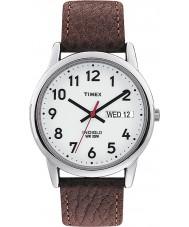 Timex T20041 Mens vit brun lätt läsare watch