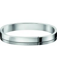Calvin Klein KJ3PMD09010L Mens konstruerat silver tonen stål armband