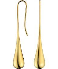 Calvin Klein KJ3QJE100100 Damer ellips guldpläterade örhängen