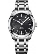 Rotary LB90165-04 Damer klockor arv silver stål armband klocka