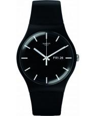 Swatch SUOB720 Ny gent - mono svart klocka