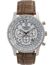 Krug-Baumen 600501DS Mens luft resande diamant klocka