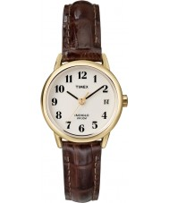 Timex T20071 Damer naturligt brun lätt läsare watch