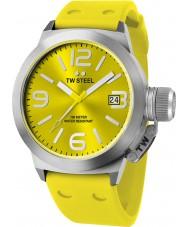 TW Steel TW520 Kantin mode gul kisel rem klocka