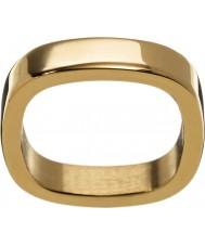 Edblad 2153441876-XS Damer jolie gul guldpläterad ring - storlek l (xs)