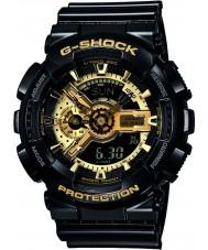Casio GA-110GB-1AER Mens g-shock svart harts världstid combi klocka