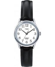 Timex T20441 Damer silver svart lätt läsare watch
