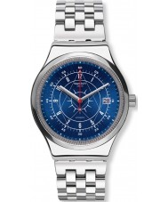 Swatch YIS401G Mens sistem boreal silver stål armband klocka