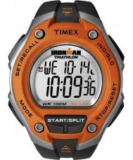 Timex T5K529 Mens apelsin svart ironman 30 varv oversize sportklockan