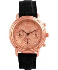 Krug-Baumen 150577DL Princip diamant damer ökade guld band watch