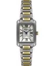 Rotary LB02651-41 Damer klockor två ton watch