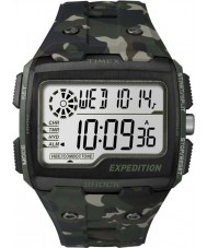Timex TW4B02900 Mens expedition digital chock khaki camo Chrono klocka