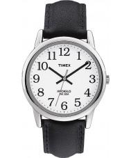 Timex T20501 Mens vit svart lätt läsare klocka