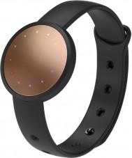 Misfit MIS2001 Shine 2 svart gummi klocka kompatibel med Android och iOS