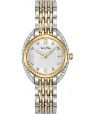 Bulova 98R229 Ladies diamond curv klocka