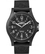 Timex TW4B08100 Mens expedition svart tyg rem klocka