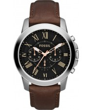 Fossil FS4813 Man beviljar brun chronographklockan