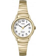 Timex T2H351 Damer vitguld lätt läsare watch